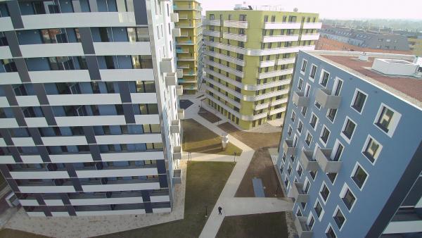 Hörbiger-Gründe: Bauteil Nord